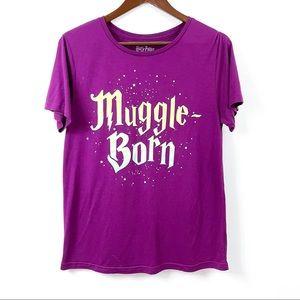 Harry Potter Short Sleeve Muggle Born Graphic Tee